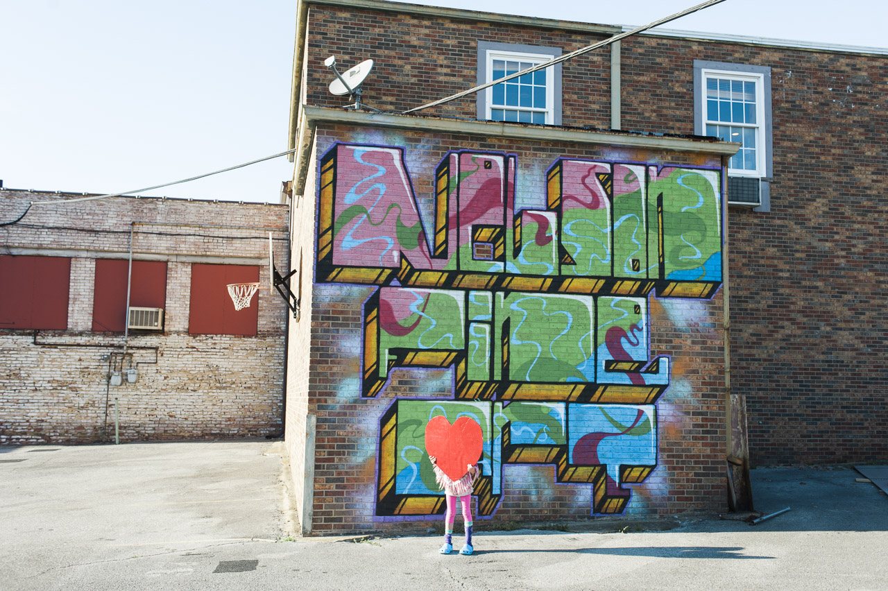 i heart johnson city | Nelson Fine Art mural