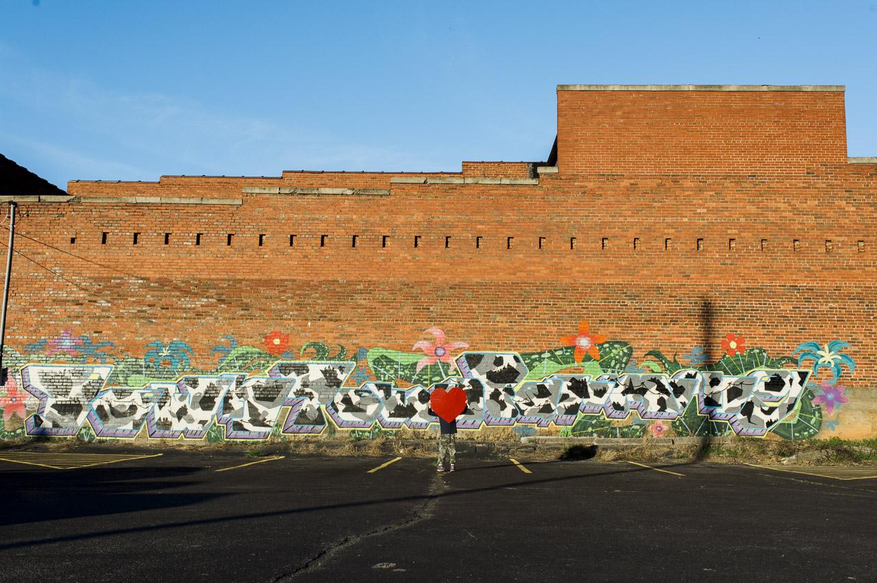 i heart johnson city | Downtown Farming mural