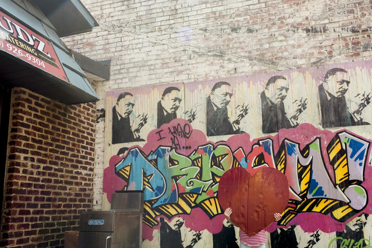 i heart johnson city | MLK mural