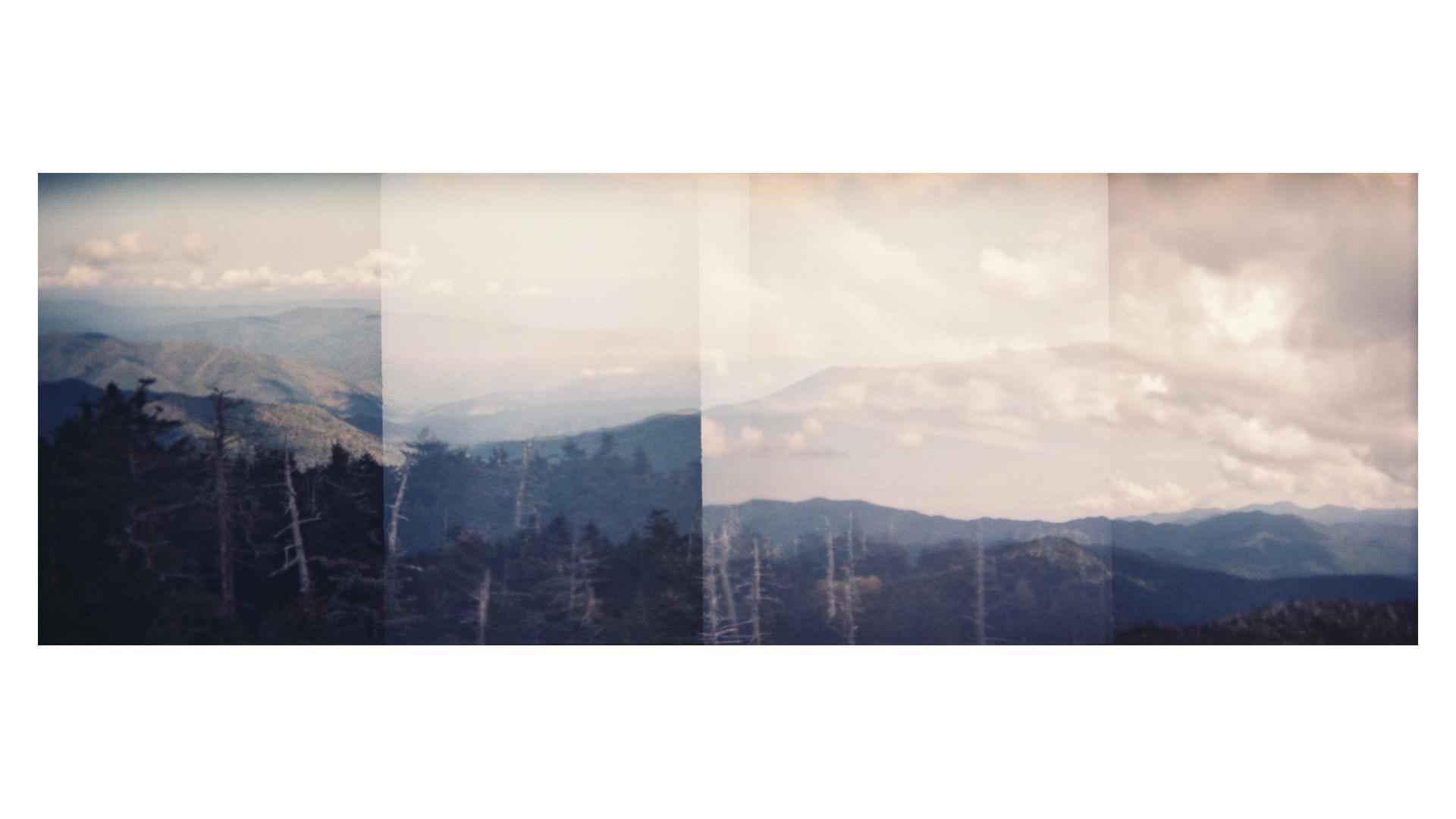 overlapping exposures of the blue ridge mountains // (c) jocelynmathewes.com