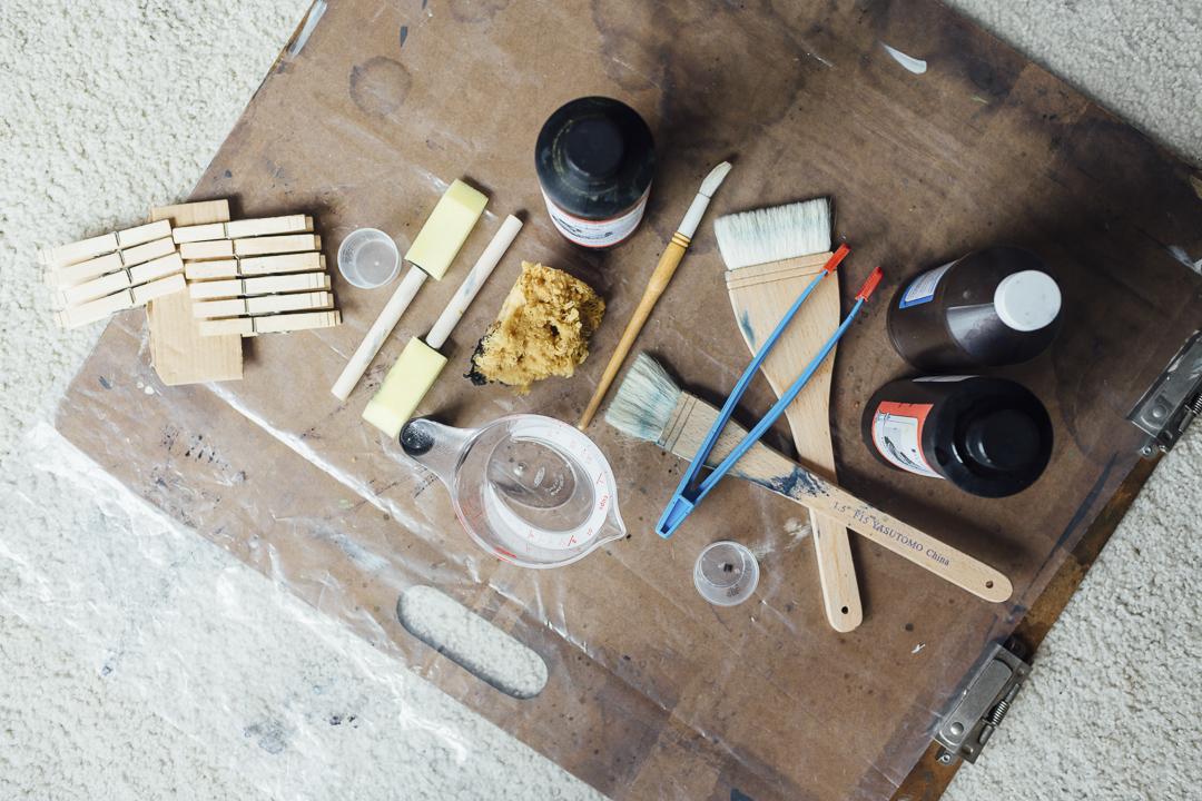 cyanotype tools // (c) annahedges.com