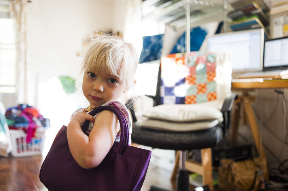 toddler in the studio // (c) jocelynmathewes.com