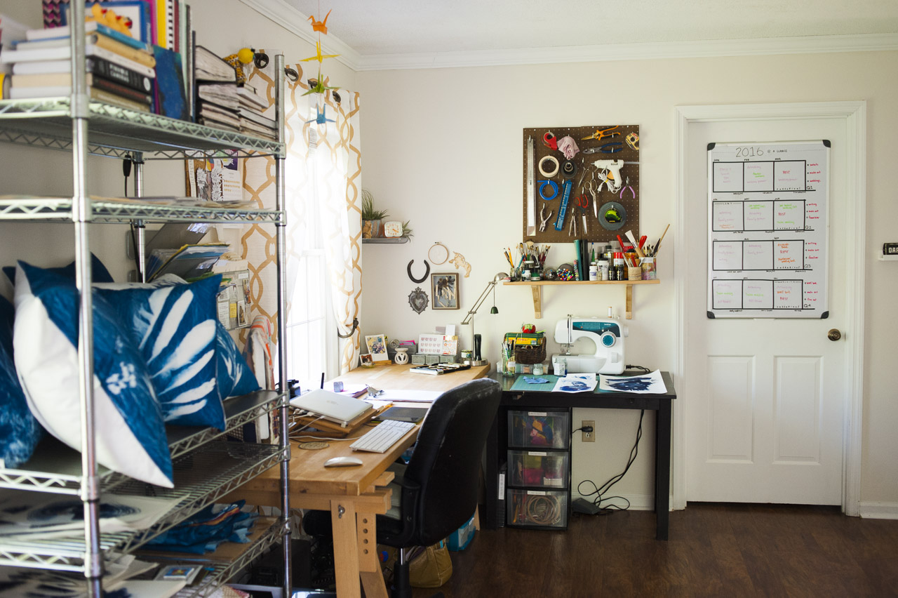 the studio space // (c) jocelynmathewes.com