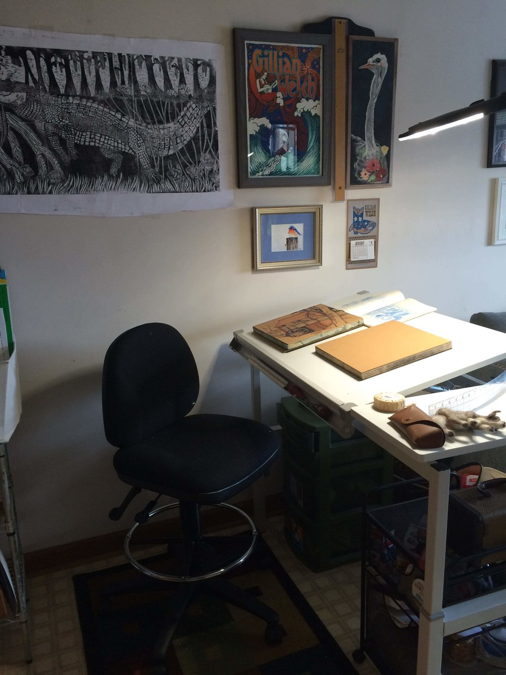the drafting table