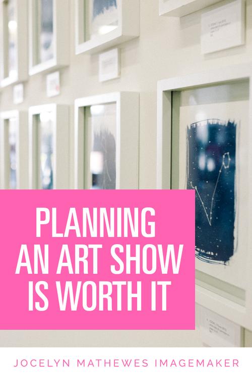 Planning an art show can be a huge undertaking bf81d267b
