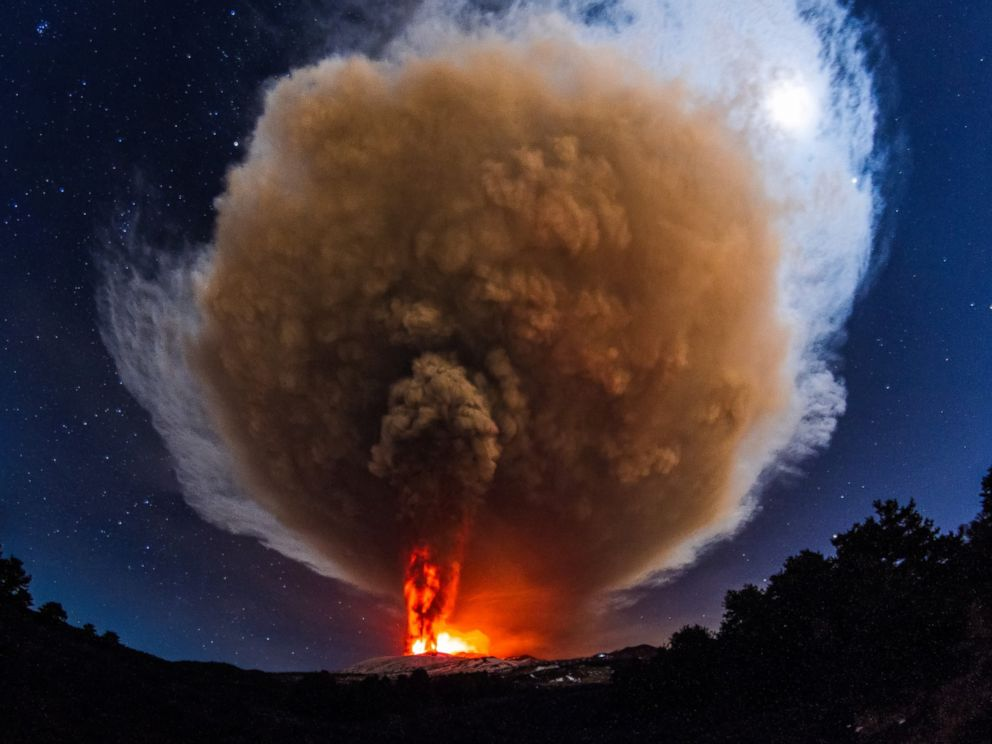 Spectacular view of eruption; courtesy abcnews.com