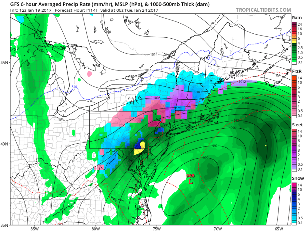 PM Major Storm Threat For Early Next Week Getting More And - Us surface map weekly forecast