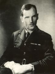"Photo of  Captain James Martin Stagg advised General Dwight ""Ike"" Eisenhower  courtesy UK Met Office"