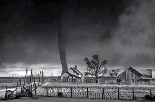 11 00 am 79 years later the tornado scene in the wizard of oz