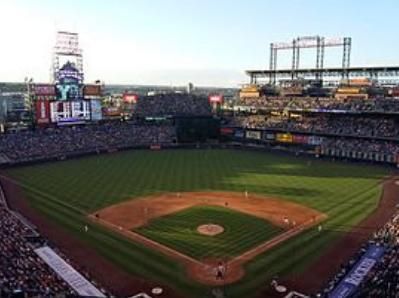 Coors Field in Denver, Colorado