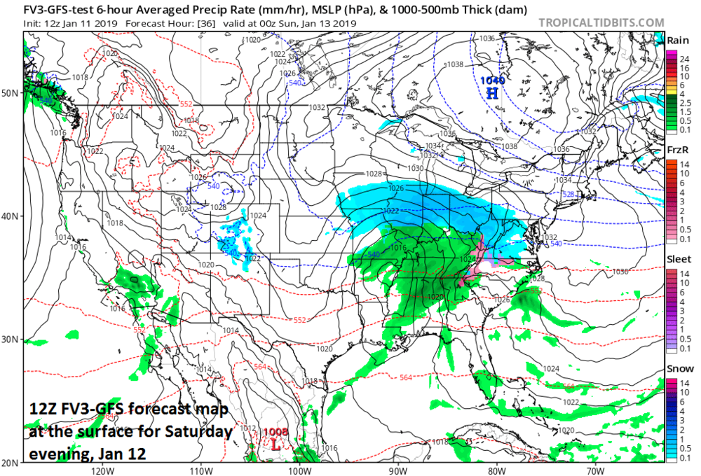 12:30 PM Friday | ***Weekend accumulating snow for the Mid-Atlantic ...
