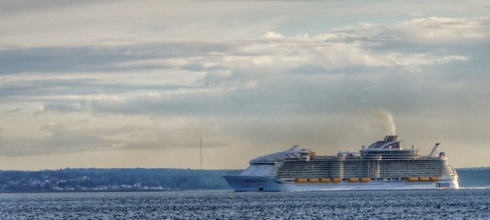 """Harmony of the Seas""  worlds largest cruise liner."