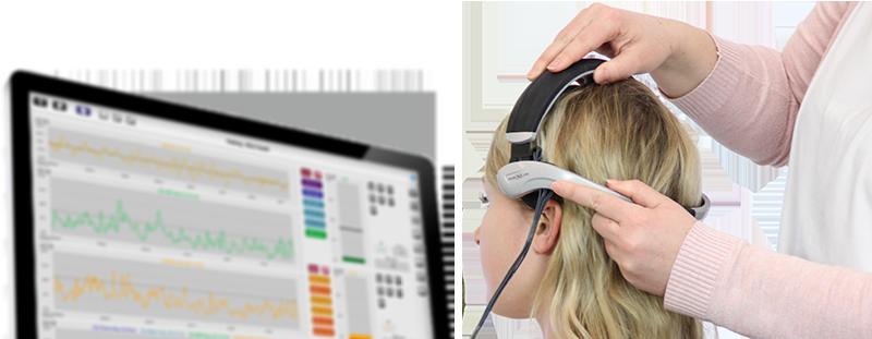 NeXus EEG headset with NeXus 10 and Biotrace+ software