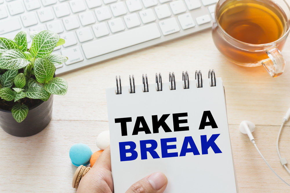 Take a break from your desk