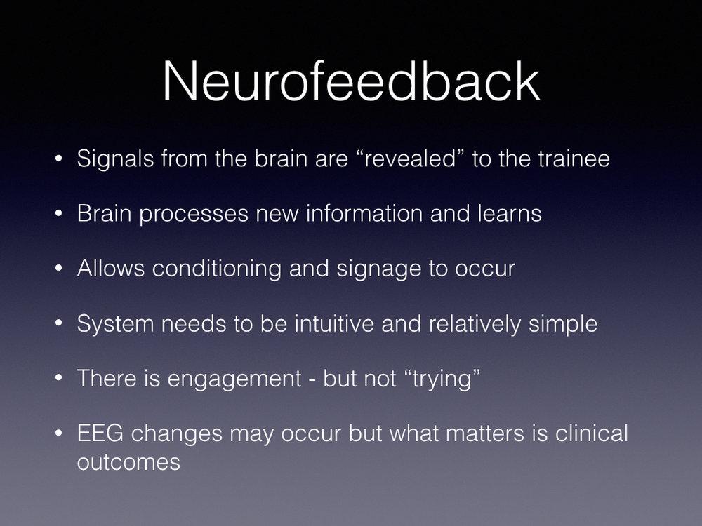 The Neurofeedback Process