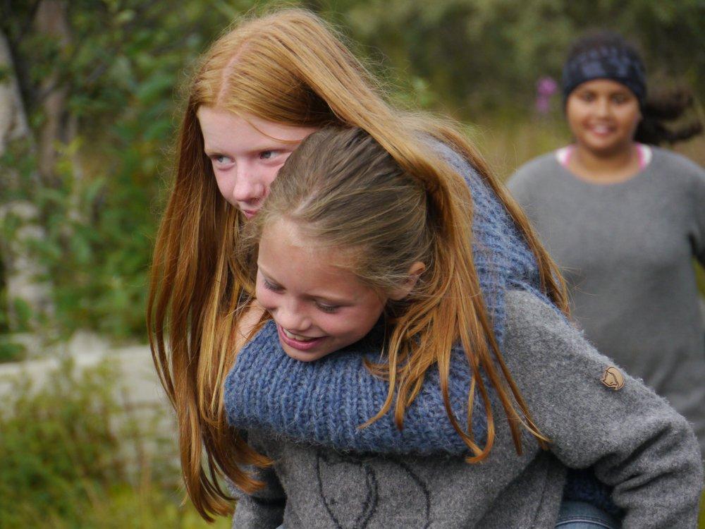 12 år gamle Ingunn Johnsen Huseby spiller hovedrollen som Anna.