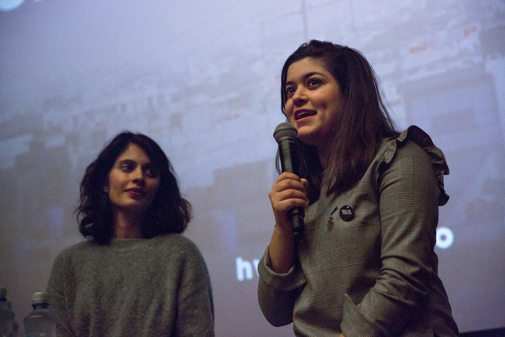 Hør vår podkast med forfatter Nancy Herz og regissør Iram Haq i samtale etter den skamløse jentevisningen på Saga kino på FNs internasjonale jentedag 11. oktober.Foto: Solveig Bakken