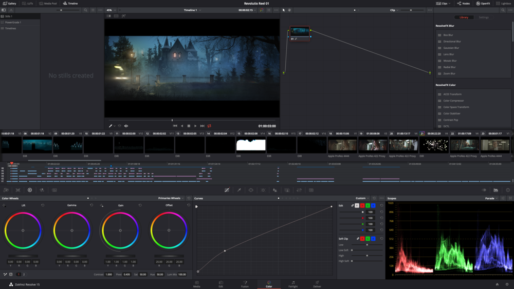 Color / Finishing - We provide the icing on your cake of every film: Color Grading. Let us go that last mile together and make your deliverables shine.