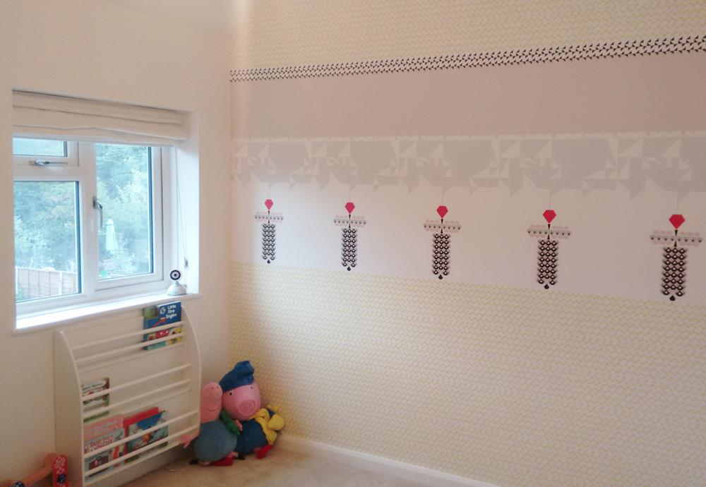 Playroom using Jewel Wallpaper in Scotland