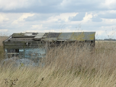 Disused building at Orford Ness, Suffolk - but it's still standing