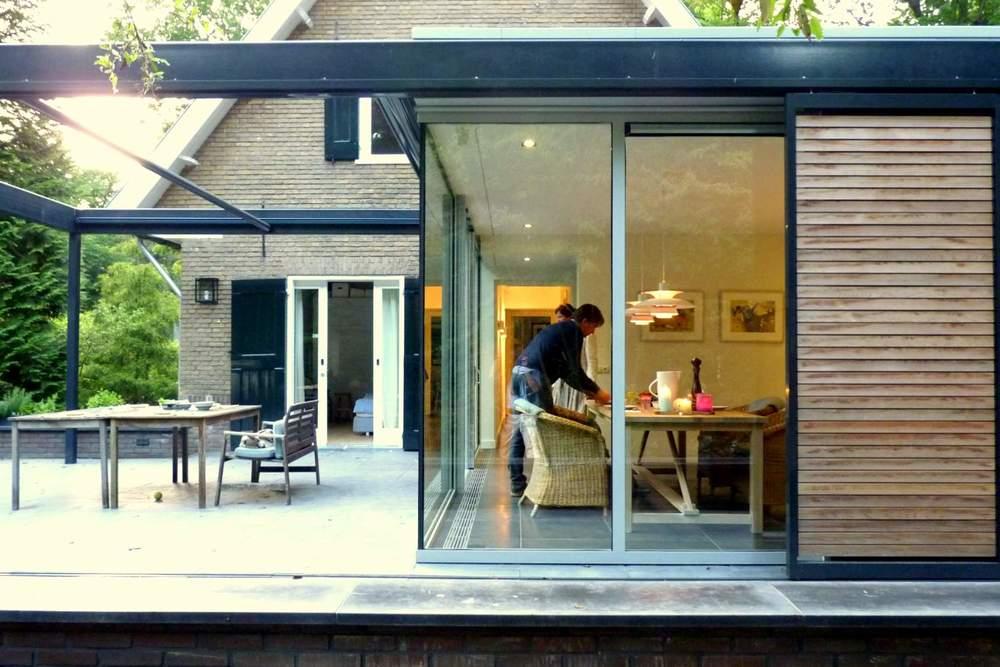 Uitbouw aanbouw glas en staal 30 mei — tuinkamerarchitect