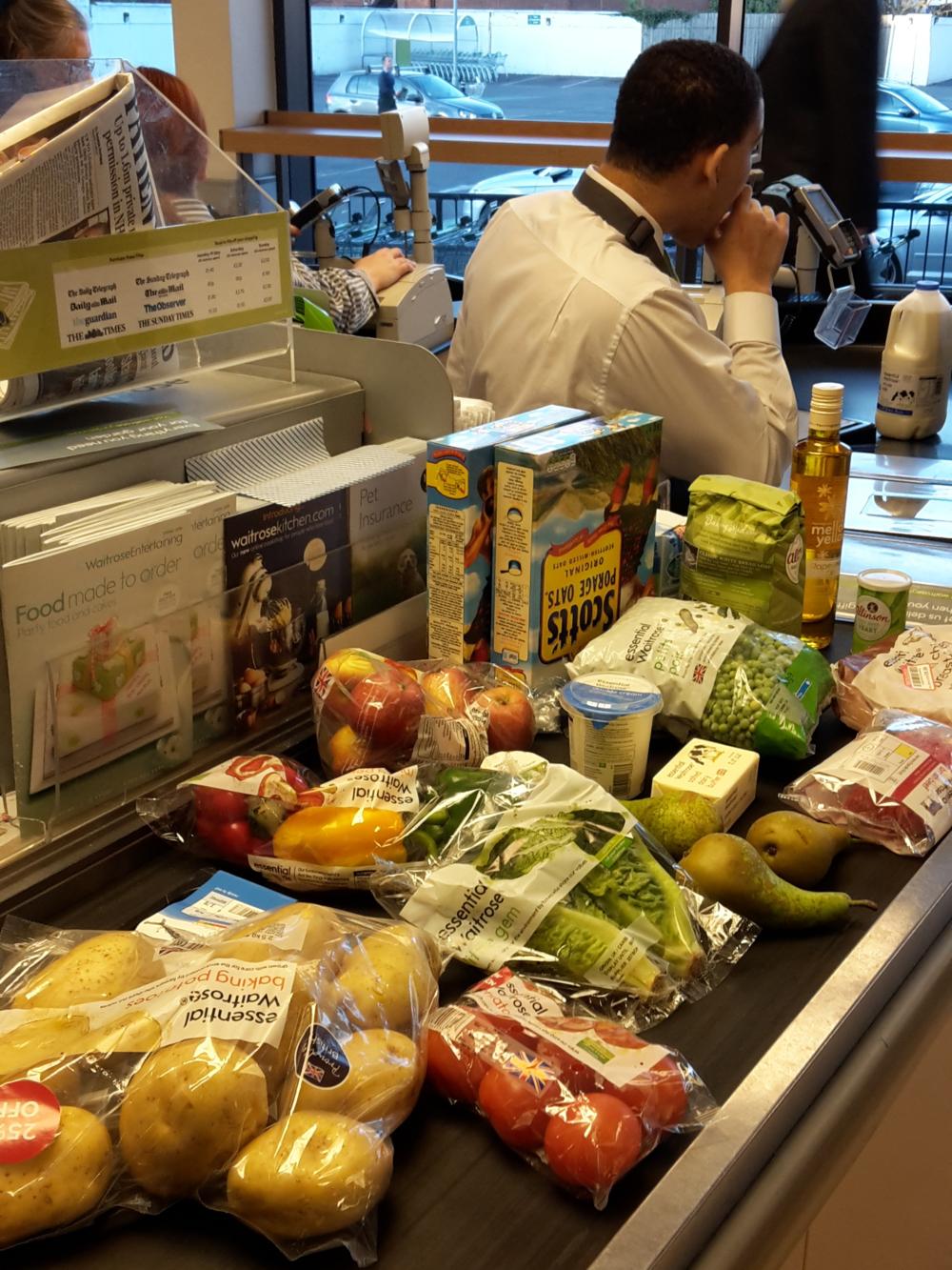 British staples in the supermarket