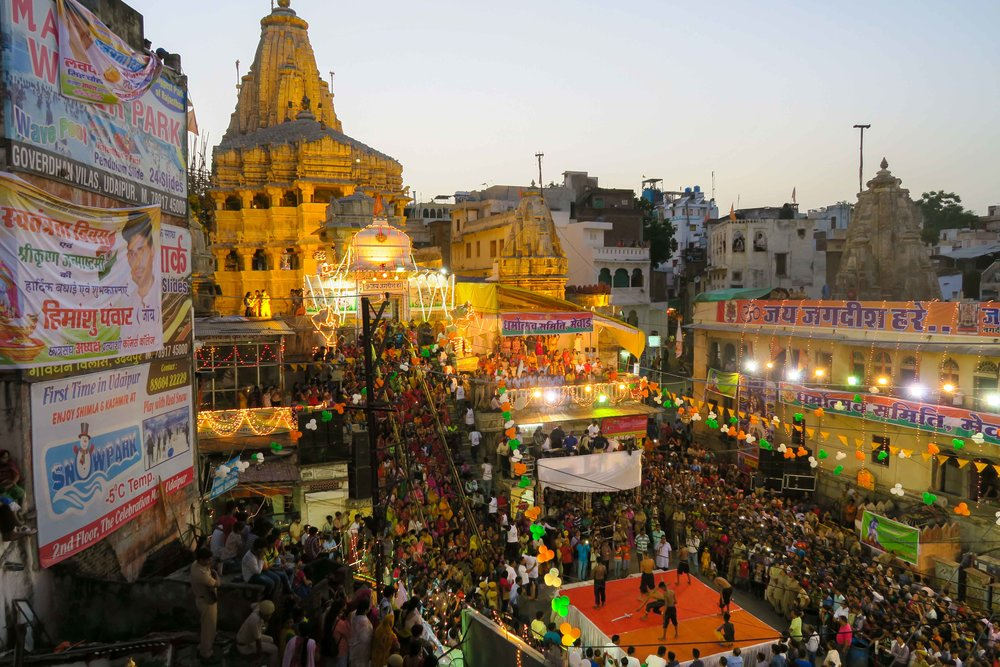 Jagdish Temple celebrations for Lord Krishna's Birthday