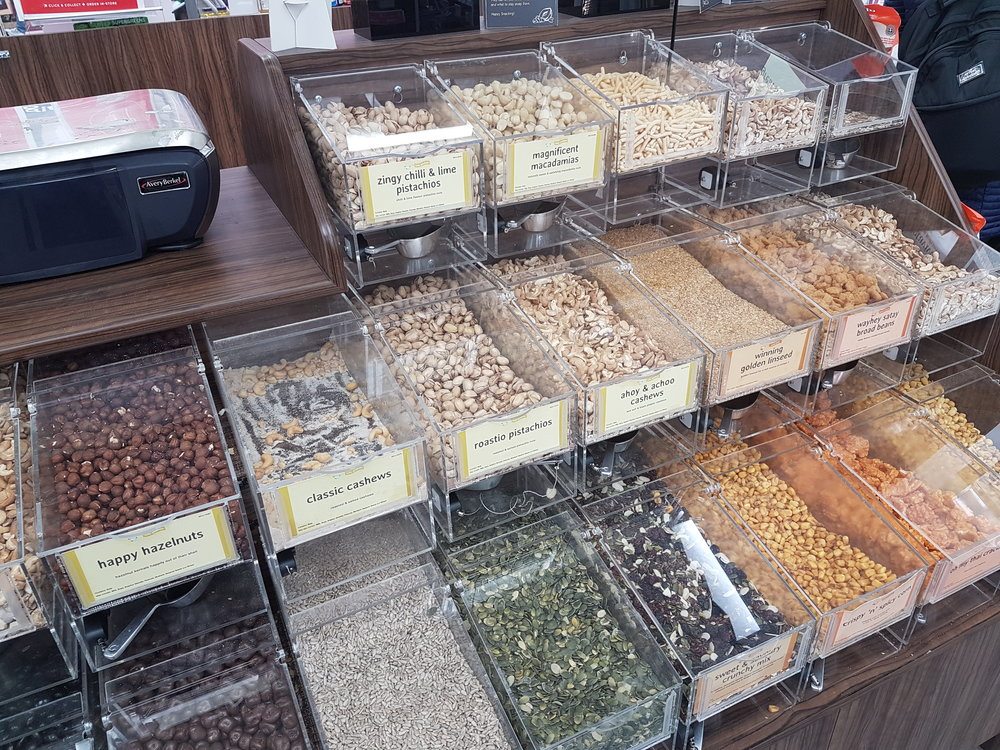 Holland & Barrett offer a range of nuts and seeds in bulk.