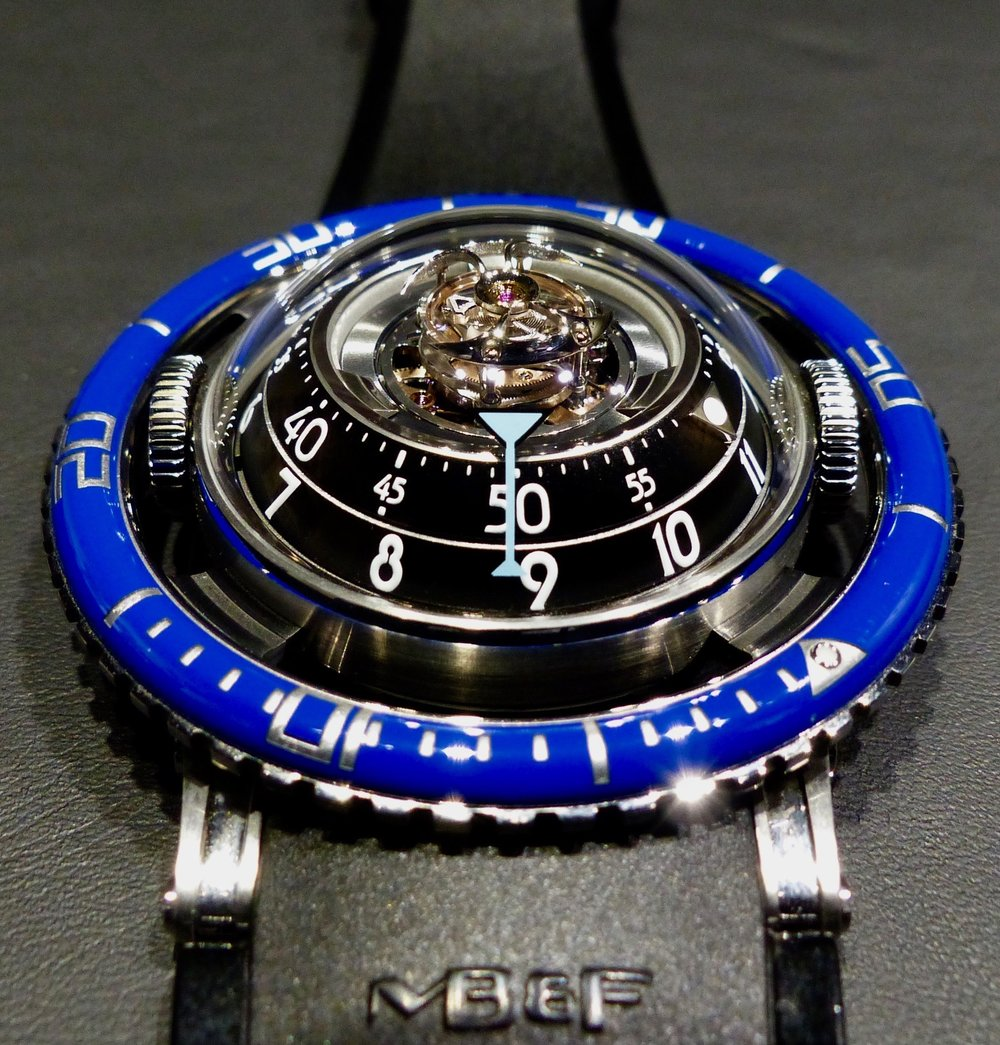 HM7 TI BLUE (Limited edition 33 pieces)