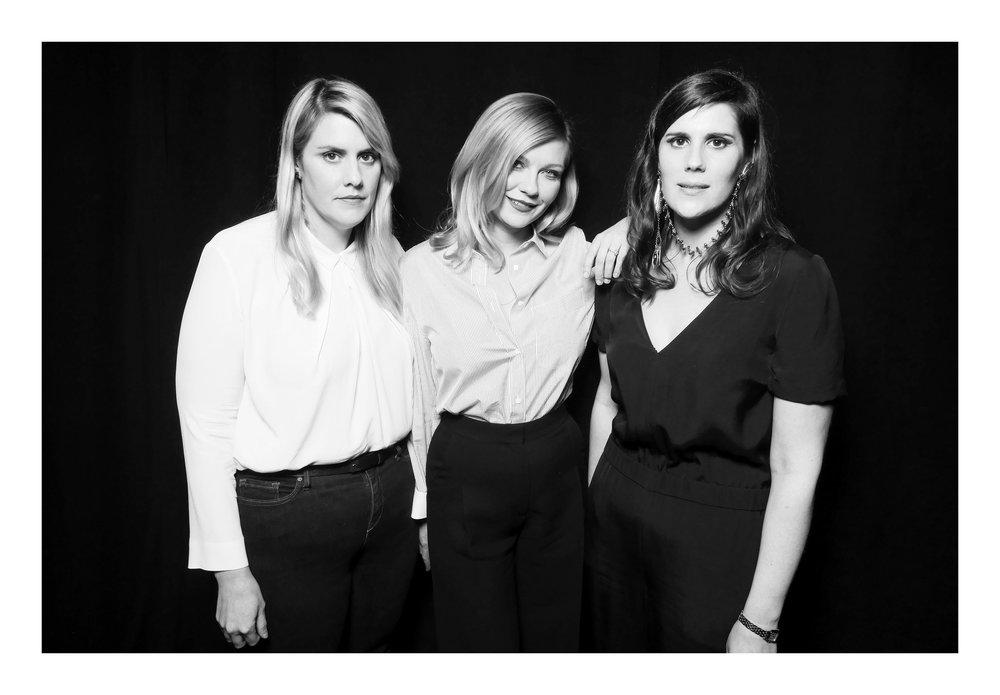 Mulleavy Sisters & Kirsten Dunst.JPG