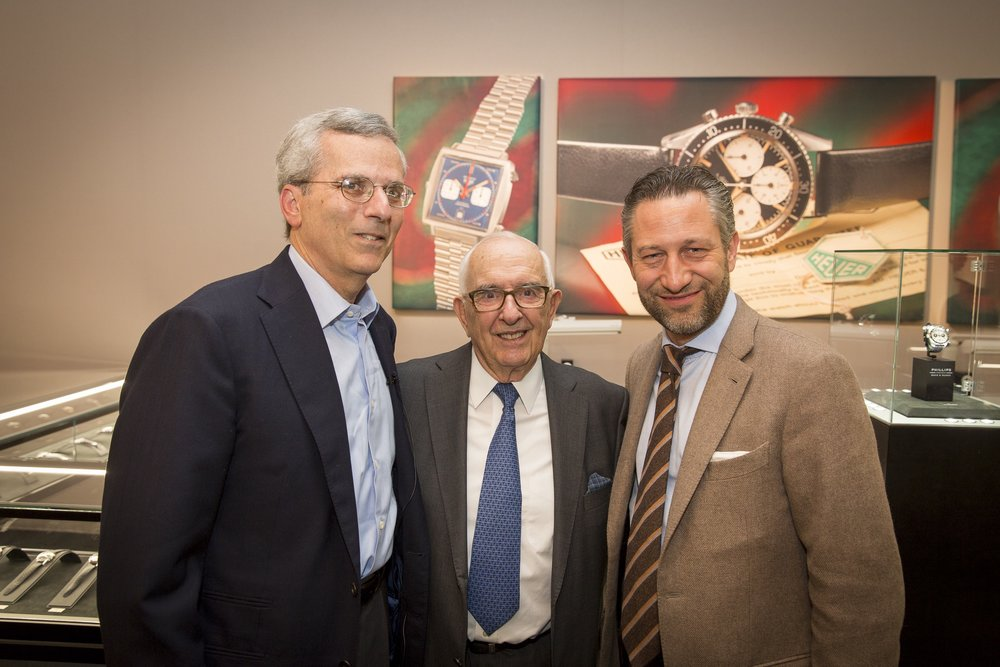 Jeff Stein, Jack Heuer and Aurel Bacs.jpg