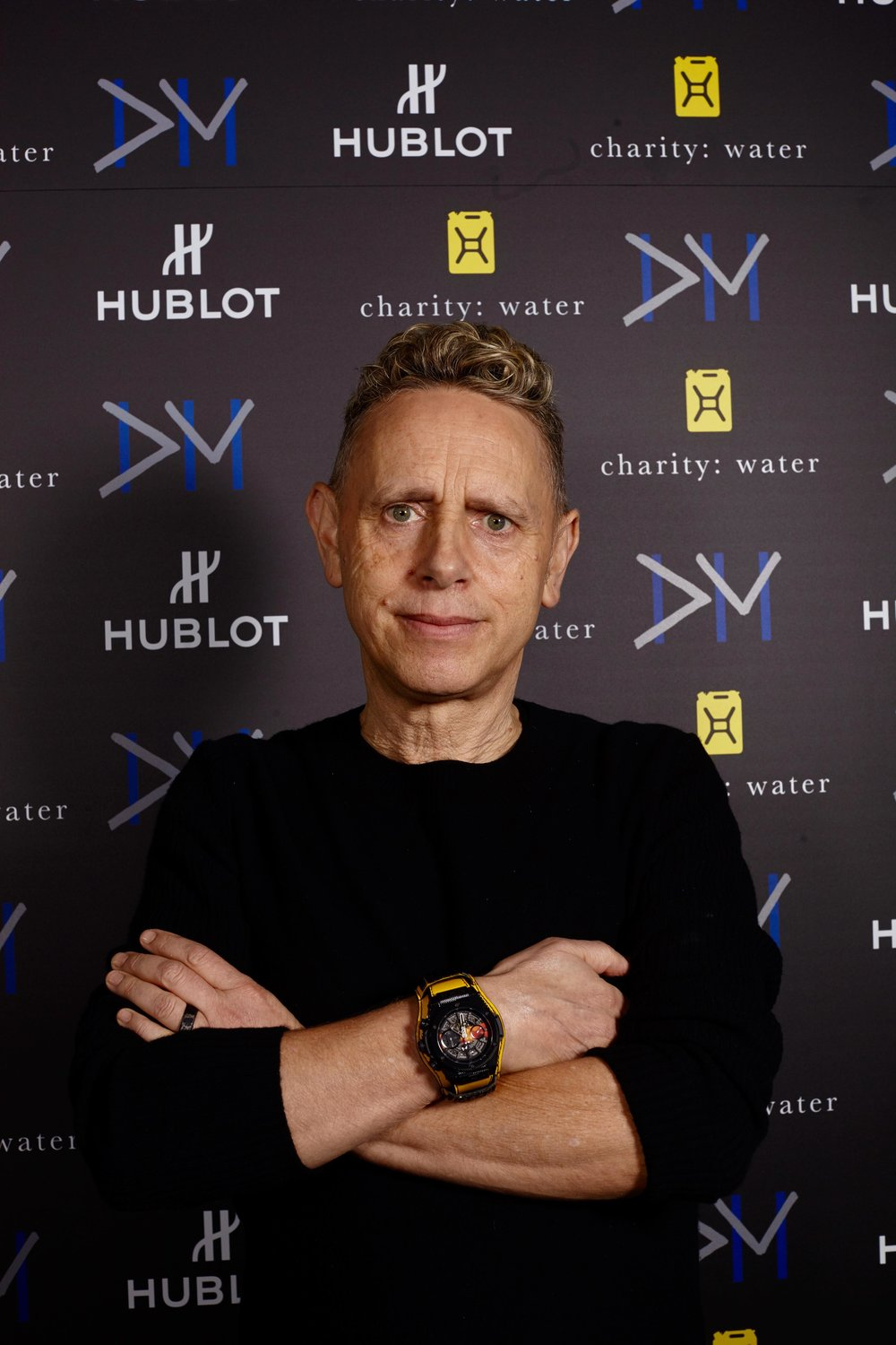 Martin Gore wearing the unique piece Big Bang Depeche Mode The Singles Dream On.jpg