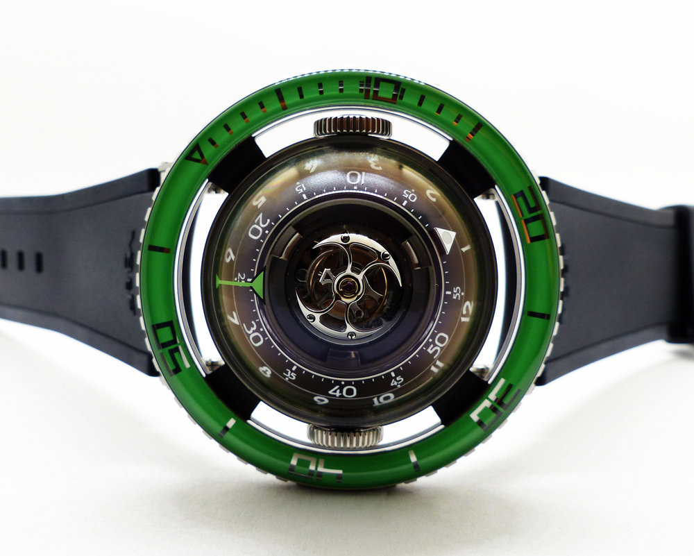 HM7 TI GREEN (Limited edition 50 pieces)