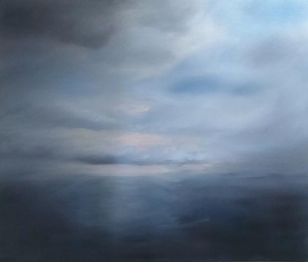 """Lake Ontario, oil on canvas, 30x36"""", 2015"""