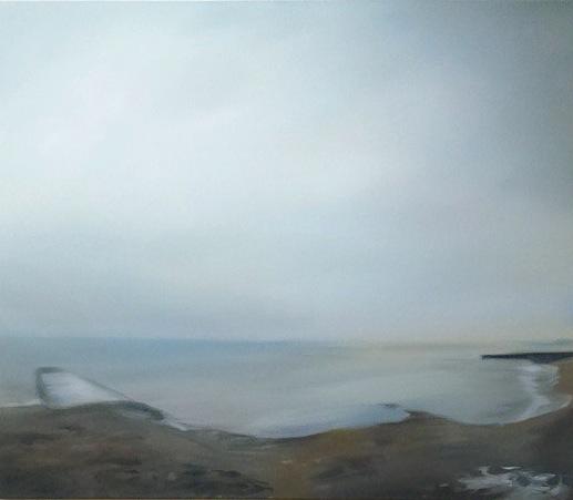 """Lake Ontario #4, oil on canvas, 30x36"""", 2015"""