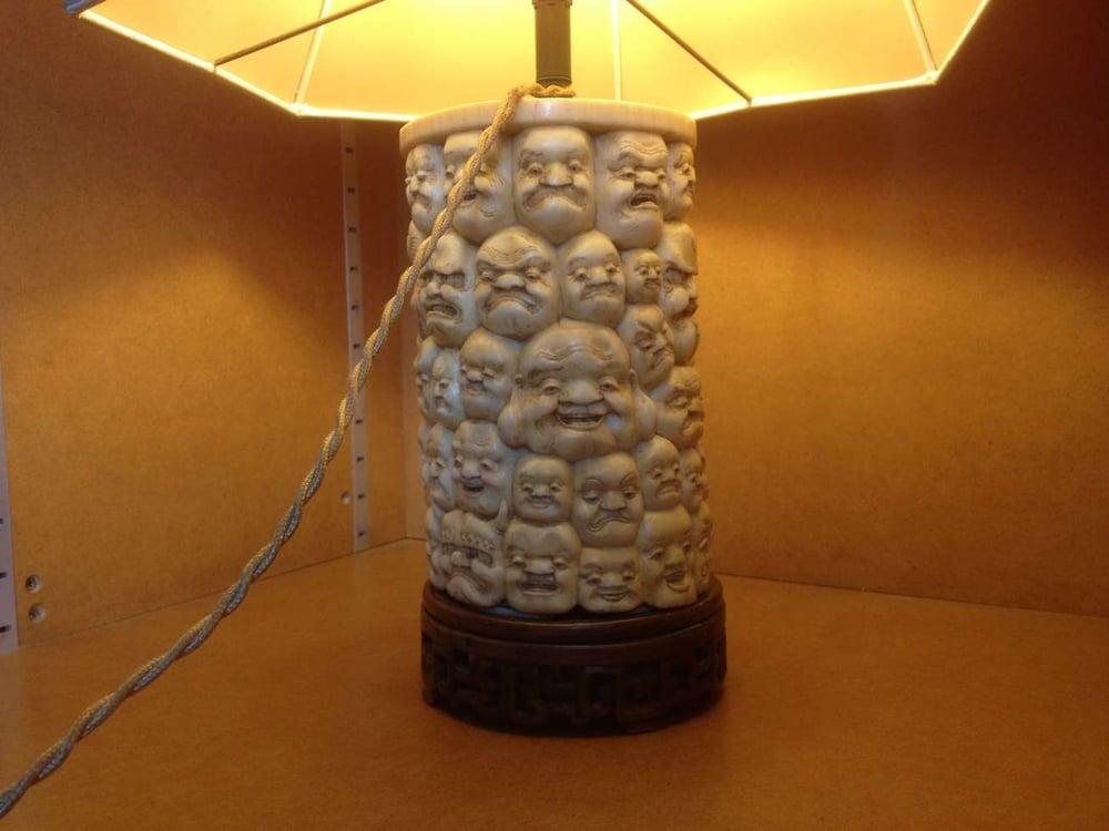 lampe ivoire