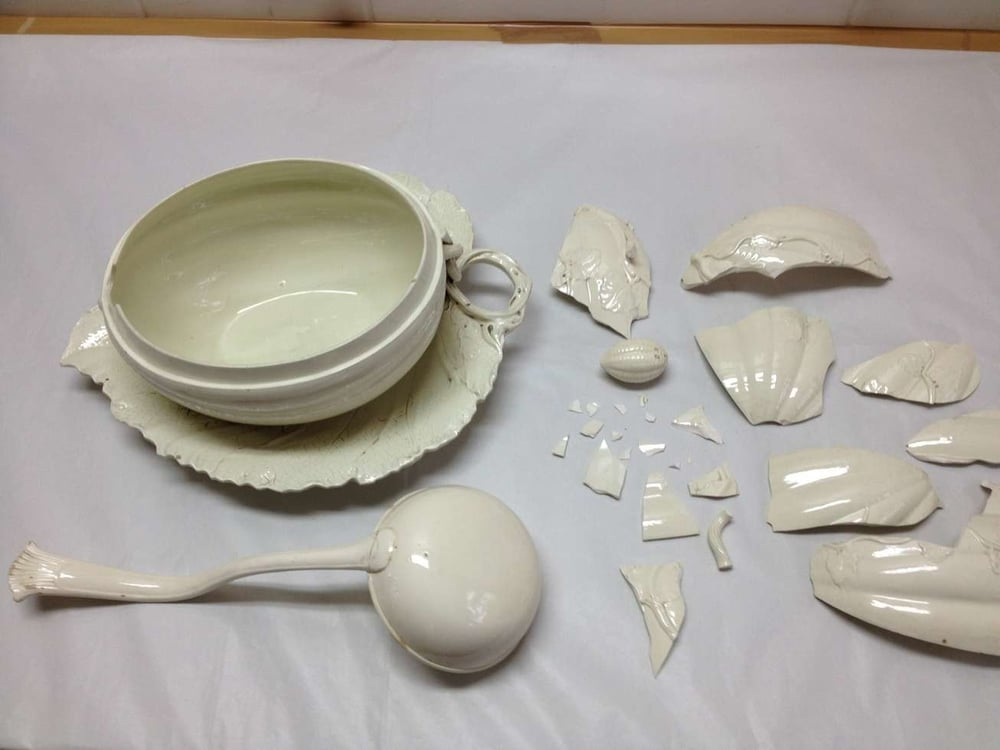 reparation faience