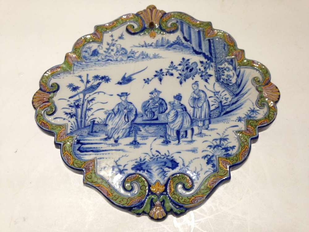 restauration plat faience