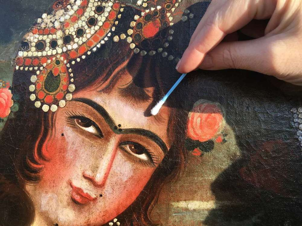 toile-peinture-iran-danseuse-restauration-art-pictural-ancien-19e-restaurarte-nettoyage.jpg