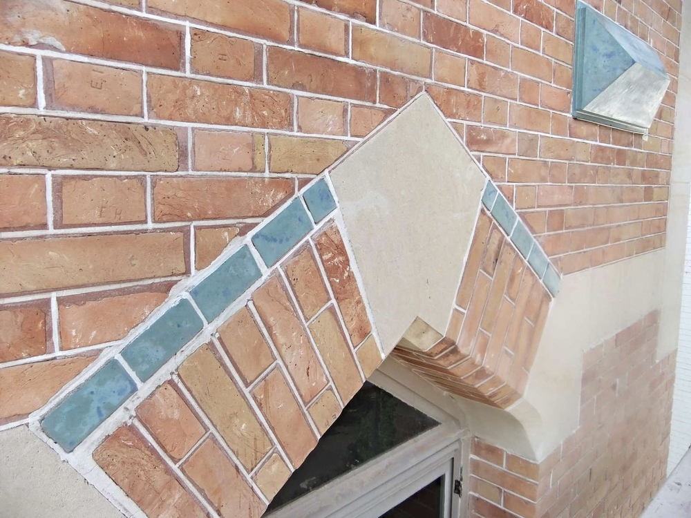 Facade grès émaillé