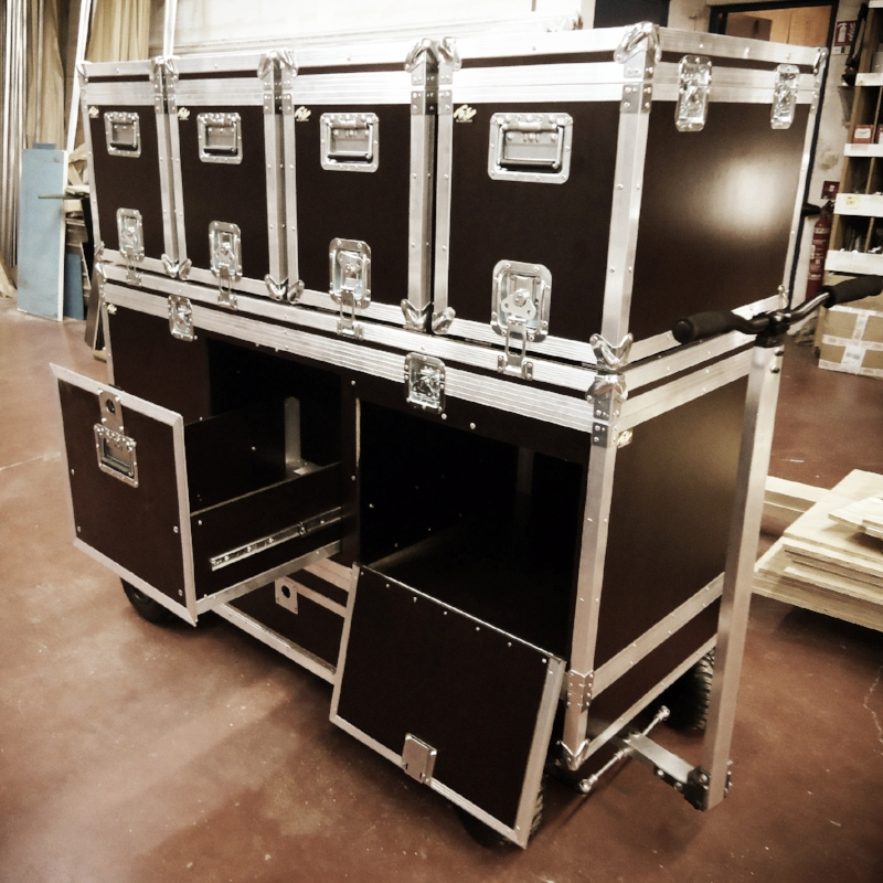 Flight cases : pour le transport aérien international