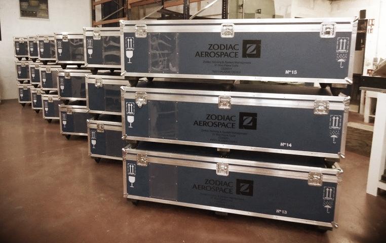 Exemple de caisses de stockage