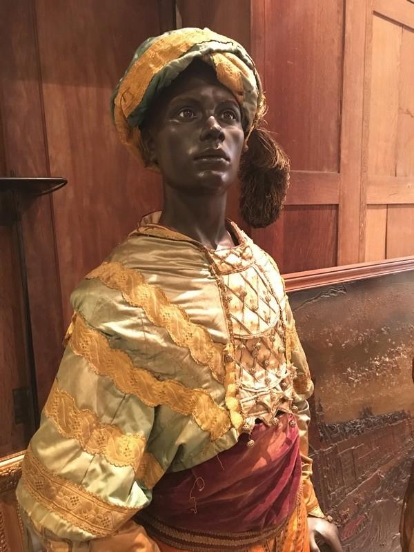 Mannequin en cire XVIIIe siècle