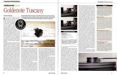 Tuscany MK 1 | Suono | Italy (in Italian)