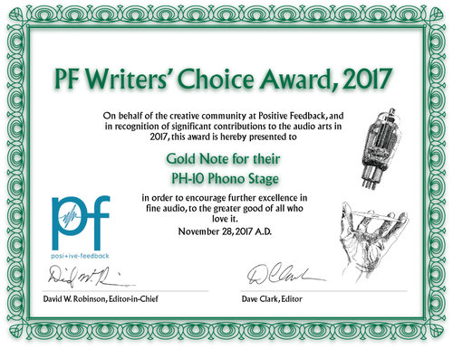 PH-10 | Positive Feedback - Writer's Choice Award 2017