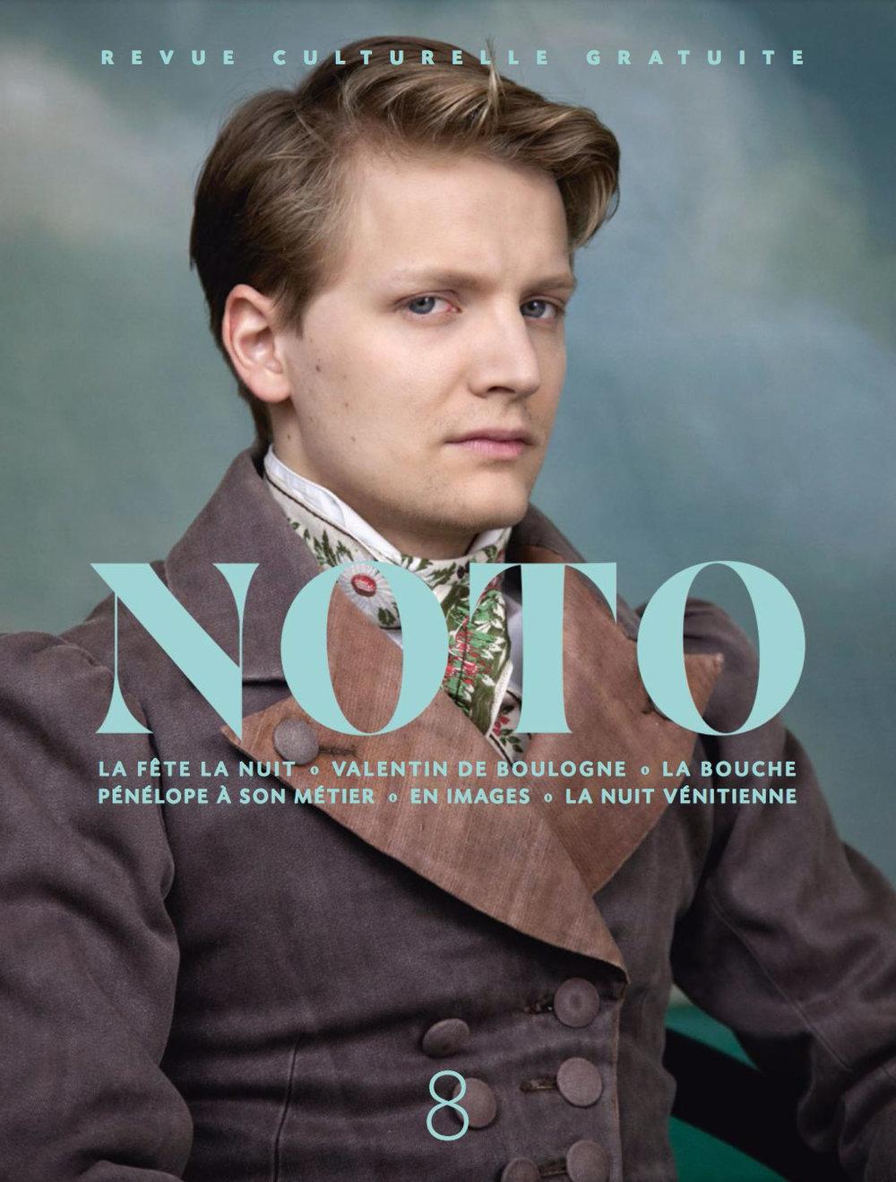 Martin Loizillon   NOTO  cover ,  Spring 2017