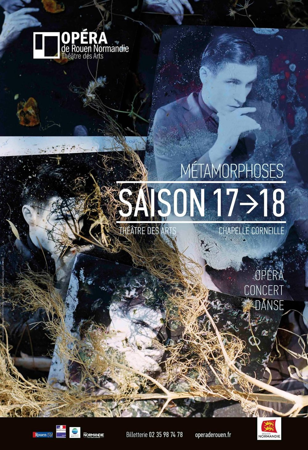 Opéra de Rouen  Official poster for Season 2017-18