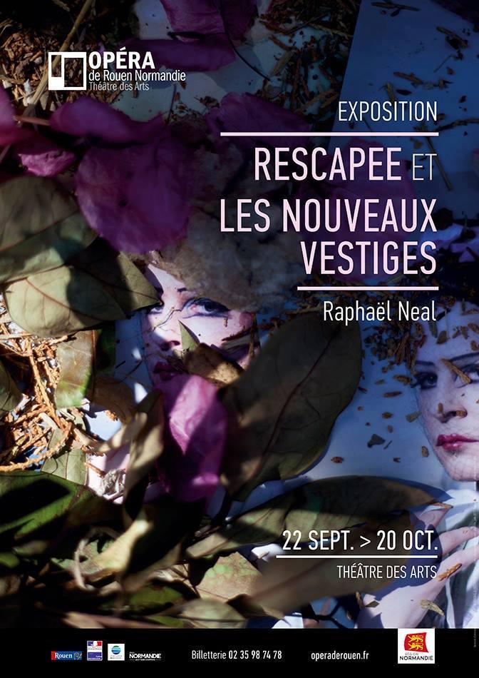 Les Nouveaux vestiges   Solo show at Opéra de Rouen (2017). Self-portrait in Otranto (Italy)
