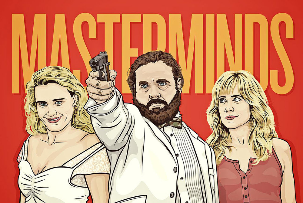 Masterminds Movie Poster