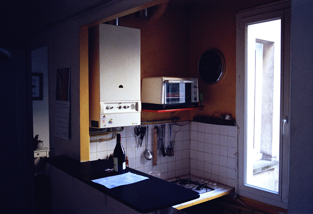 Kitchen scene, 2011